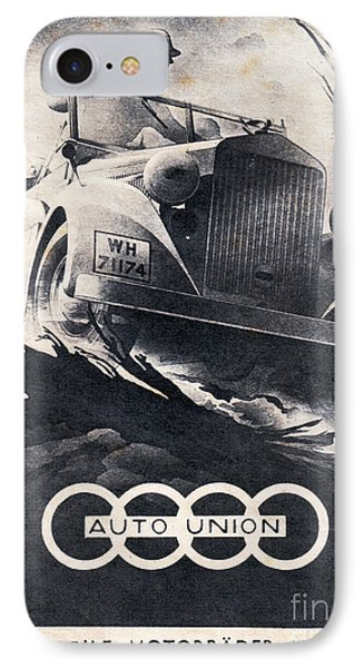 Auto Union IPhone Case