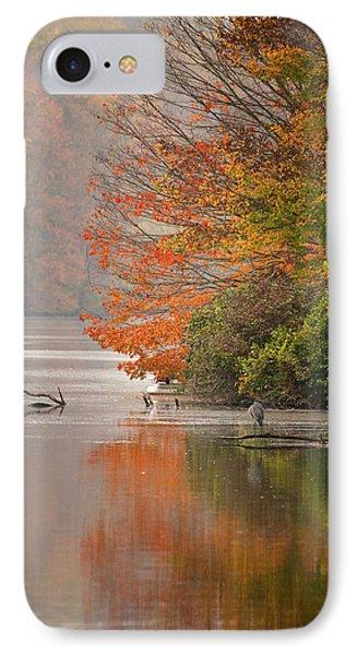Autumn - Lake Logan IPhone Case