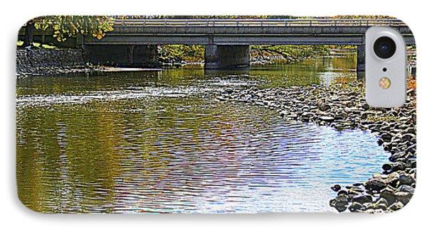 Autumn Along The Fox River IPhone Case