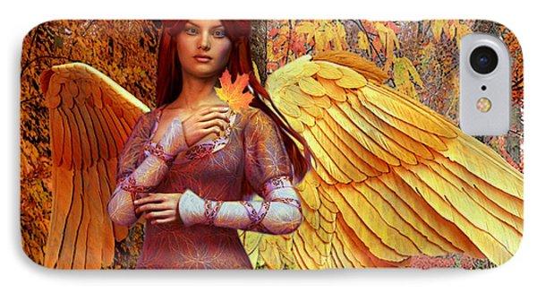 Autumn Angel 2 IPhone Case