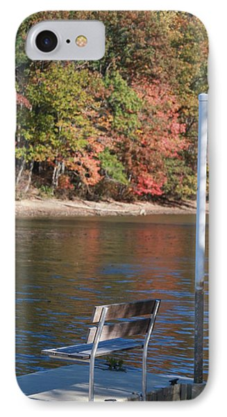 Autumn At The Lakeview Camp IPhone Case