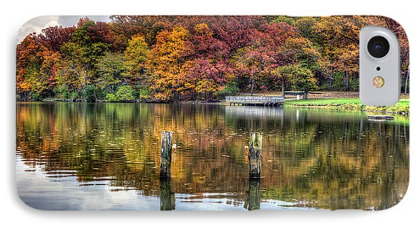 Autumn At The Pond IPhone Case