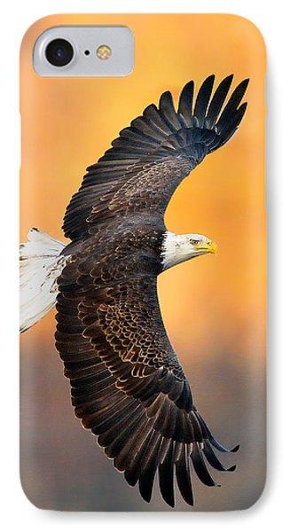 Autumn Eagle IPhone Case