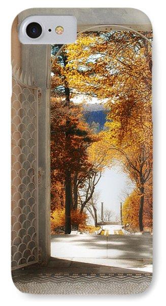 Autumn Entrance IPhone Case