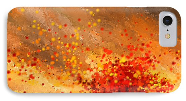 Autumn-four Seasons- Four Seasons Art IPhone Case