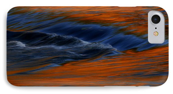 IPhone Case featuring the photograph  Autumn River by John F Tsumas