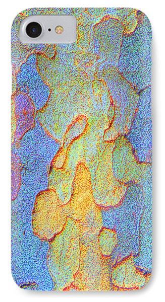 Autumn London Plane Tree Abstract 4 IPhone Case