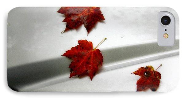 Autumn On The Car IPhone Case
