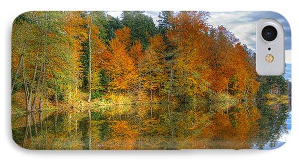 Autumn Reflection IPhone Case