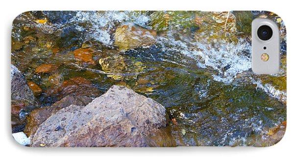 Autumn River Swirl IPhone Case