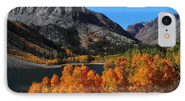 Autumn Splendor At Lundy Lake In The Eastern Sierras IPhone Case