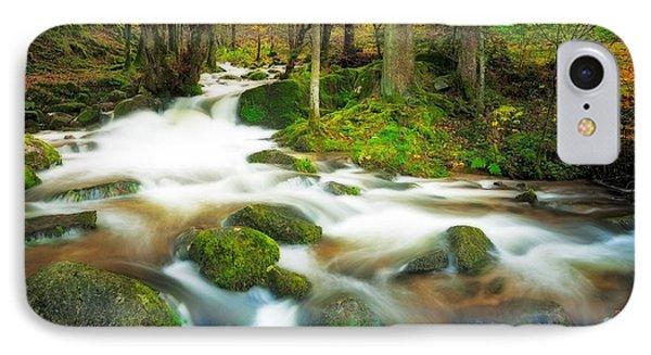 Autumn Stream IPhone Case