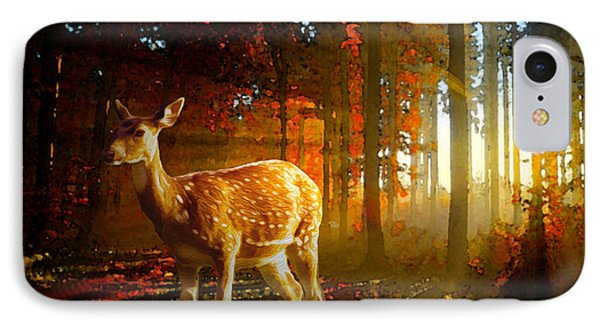 Autumn Study IPhone Case