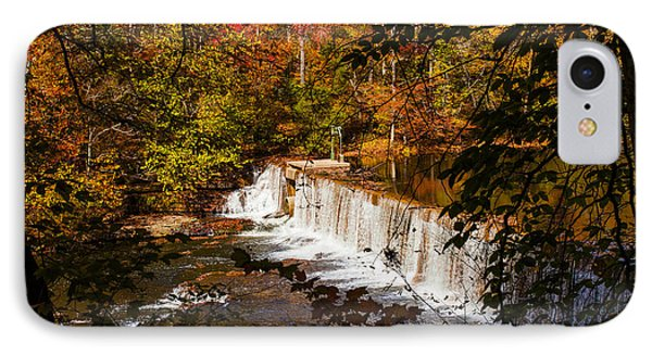 Autumn Trees On Duck River IPhone Case
