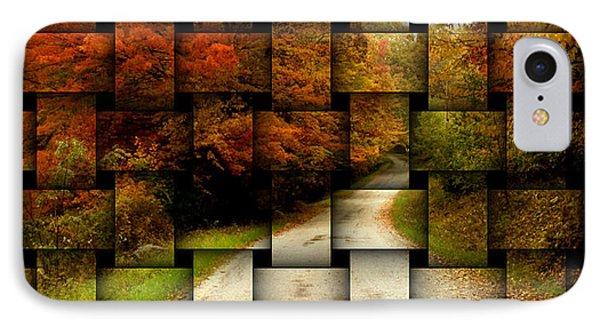 Autumn Weave IPhone Case