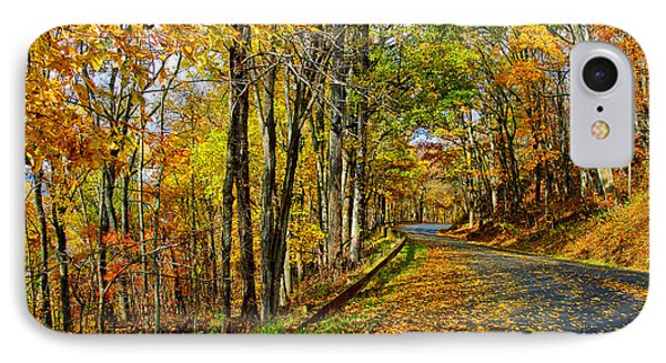 Autumn Winding Road IPhone Case