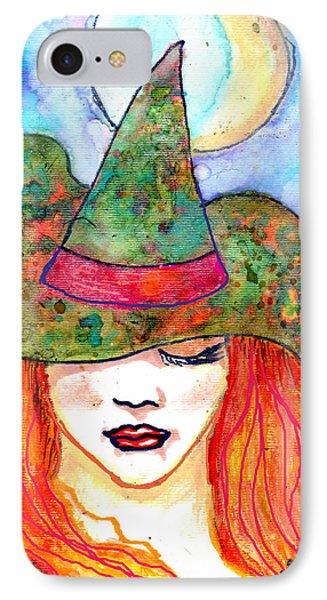 Autumn Witch IPhone Case