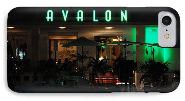 Avalon Hotel IPhone Case