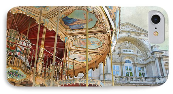 Avignon Carousel IPhone Case