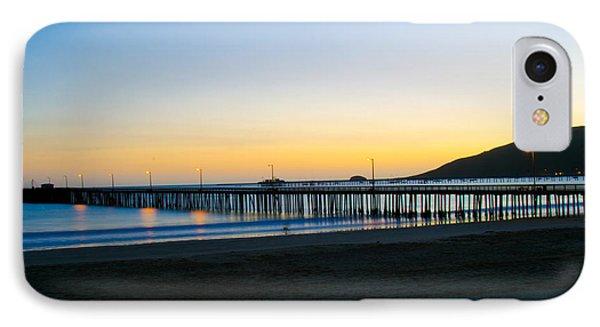 Avila Beach Pier Sunset IPhone Case