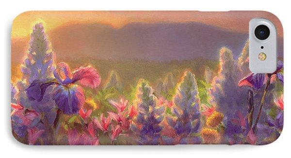 Awakening - Mt Susitna Spring - Sleeping Lady IPhone Case