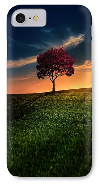 Scenic iPhone 8 Case - Awesome Solitude by Bess Hamiti