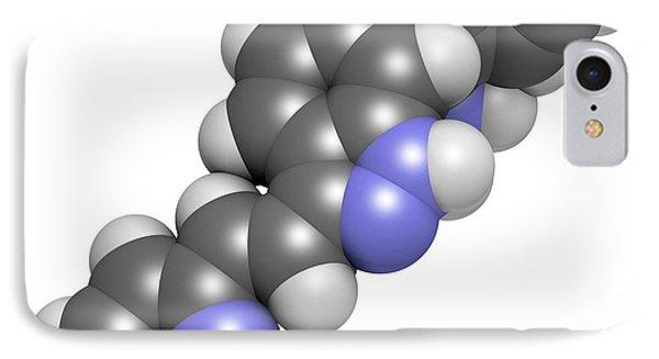 Axitinib Cancer Drug Molecule IPhone Case