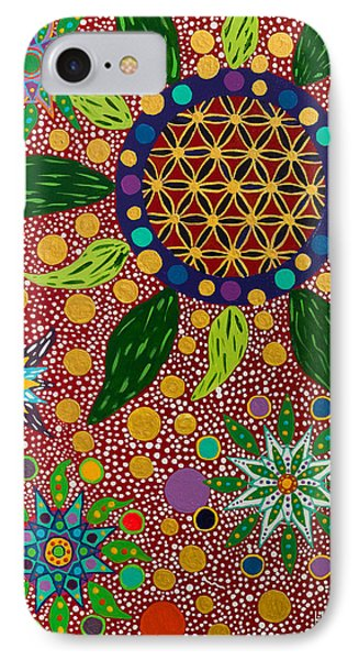 Ayahuasca Vision - The Opening Of The Heart IPhone Case