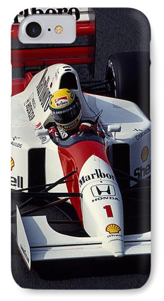 Ayrton Senna. 1992 French Grand Prix IPhone Case