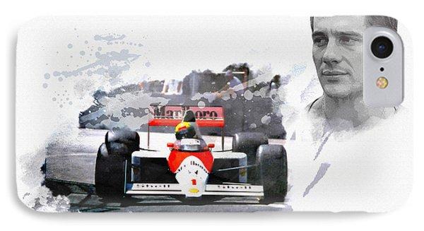 Ayrton Senna Genius IPhone Case
