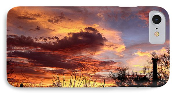 Az Monsoon Sunset IPhone Case