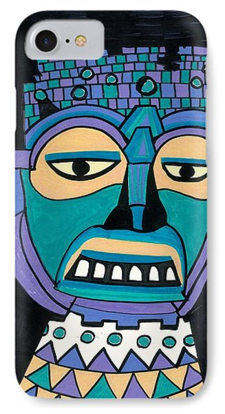 Aztec Mask IPhone Case