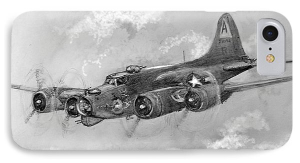 B-17 Flying Fortress IPhone Case