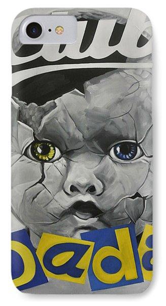 Baby Dada IPhone Case