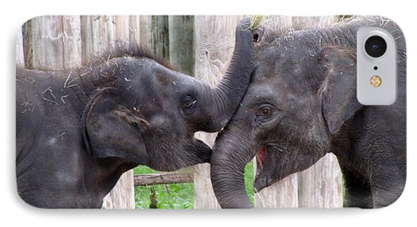 Baby Elephants - Bowie And Belle IPhone Case
