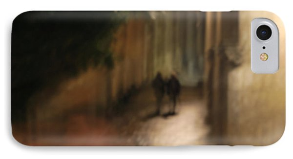 Back Street Of Barcelona Cathedral IPhone Case