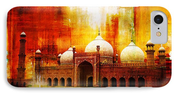 Badshahi Mosque Or The Royal Mosque IPhone Case