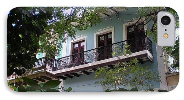Balcony At La Caleta IPhone Case
