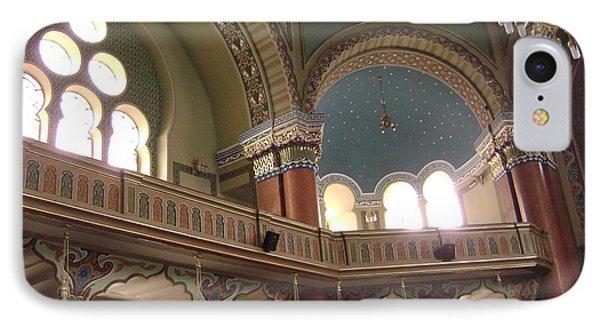 Balcony Of Sofia Synagogue IPhone Case