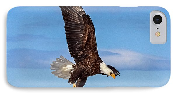 Bald Eagle Comming Down IPhone Case