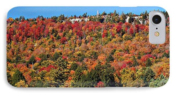 Bald Mountain Beacon Adirondacks New York IPhone Case