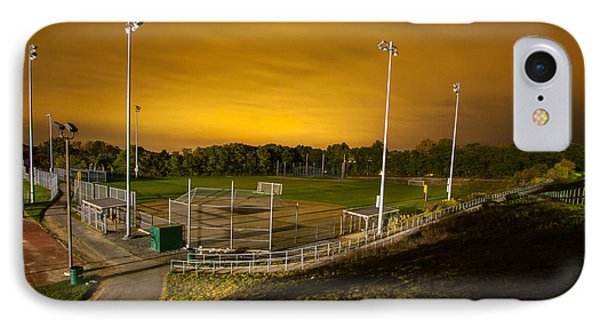 Ball Field At Night IPhone Case