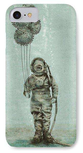 Beach iPhone 8 Case - Balloon Fish by Eric Fan