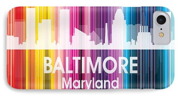 Baltimore Md 2 Squared IPhone Case