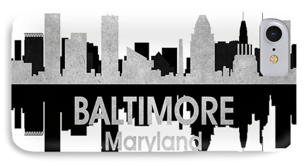 Baltimore Md 4 Squared IPhone Case