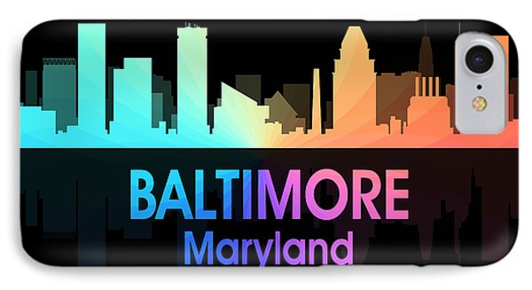 Baltimore Md 5 Squared IPhone Case