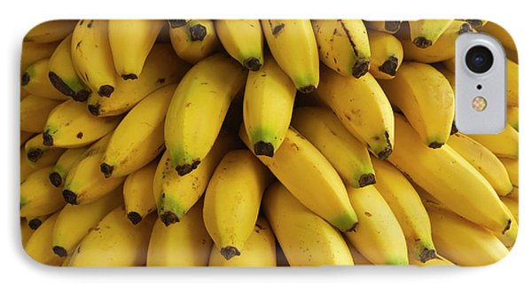 Belize iPhone 8 Case - Bananas At The Saturday Market, San by William Sutton