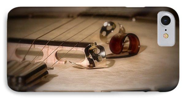 Drum iPhone 8 Case - Banjo by Tom Mc Nemar