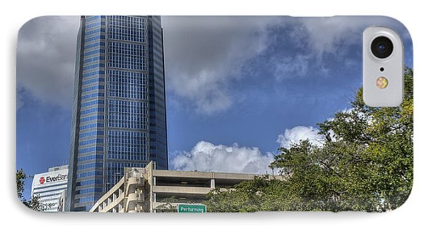 Bank Of America Tower Jacksonville IPhone Case