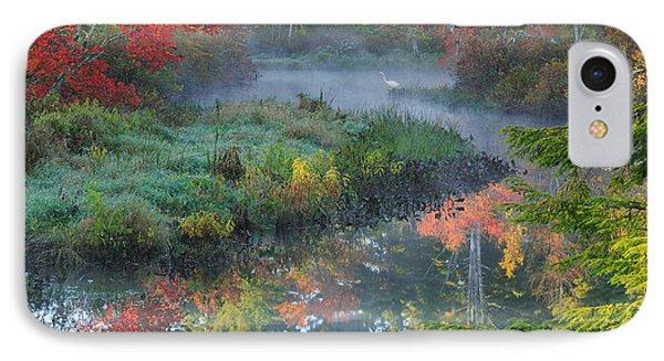 Bantam River Autumn Square IPhone Case